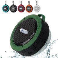 C6 Mini haut-parleurs sans fil portable étanche TF sans fil Bluetooth musique haut-parleur extérieur sans fil Musique Subwoofer