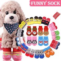 Christmas Gift Dog Pet Cat Sock New Year Warm Socks for wint...