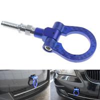 Mavi Alüminyum Yarış Çekici Yüzük MİNİ COOPER R50 / R52 / R53 / R55 / R56 uyar Hook