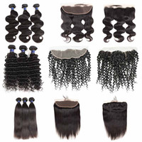 Unprocessed 8a Brazilian Straight Body Wave Virgin Hair Weft...