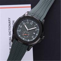 Топ-продавец мода спорт 43 мм кварцевые мужские часы силиконовые резиновые ремень высокое качество часы 17 цветов