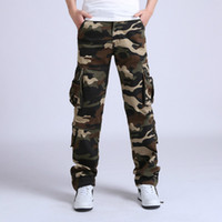 Men cargo pants men tactical loose  Casual Camouflage Pants Cotton trousers Joggers Pantalon Homme Combat