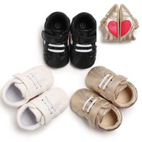 New Arrival Loving heart pattern Patchwork Baby sneaker Casu...