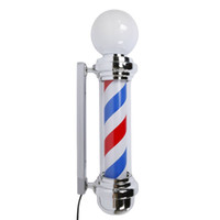 "Oświetlenie LED Lampa Advisement 32 ""M338D Obracanie Barber Biegun Light US Plug Red Blue White"
