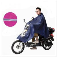 واحد بونشو الكهربائية سيارة بليشير دراجة المعطف دراجة نارية الرجال النساء النساء