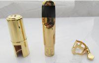 Yanagizawa Nuovo Best qualità professionale tenore Soprano Sassofono Contralto boccaglio in metallo Oro Lacca NO 5-9 Bocchino Sax