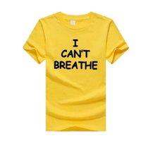 Mens Designer T-shirts « Je ne peux pas Breathe » Mode Hommes T-shirts Hauts Femmes 2020 Été chaud Vente de luxe T-shirts T-shirts 14 nouveaux styles