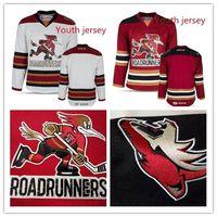 Wholesale ahl jerseys for sale - Custom Youth Tucson Roadrunners Andrew  Campbell Hunter Miska Dakota Mermis d7330071dbf