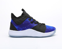 Cheaps alta qualità Paul George PG 3 x NASA EP Palmdale PlayStation Mens Basketball Shoes III USA Designer PG3 3S Sport Sneakers 40-45