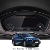 Film de verre d'écran de protection de navigation de voiture pour Audi Q5 FY 2018 2019 écran de bord de protection TPU Film de protection