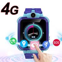 دردشة جميلة لطيف هدية 4G HD فيديو الذكية ووتش GPS المقتفي LBS لتحديد المواقع نداء الأطفال سمارت كيدز الطلاب صبي فتاة ووتش الهاتف