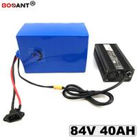 Livraison Gratuite 84V 40AH E-bike Batterie Au Lithium pour Bafang BBSHD 2000W 3000W 4000W Moteur Vélo Électrique Batterie 84V avec 5A Chargeur