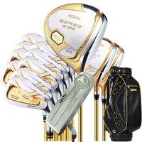 Nuova Golf club HONMA S-06 4 stelle Golf completo set di mazze conducente fairway legno putter Borsa albero di golf della grafite Headcover Trasporto libero