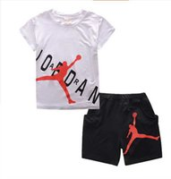 New Hot Retail Summer Brand Boys Clothes Set Boys Sport Suit...