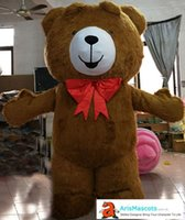 Inflatable Suit Teddy Bear Mascot Costume for Party Theme Pa...