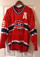 Cheap custom CCM Montreal Canadiens Larry Robinson 19 Jersey...