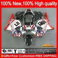 OEM corpo vermelho preto novo para a Honda CBR 954 RR 900 CC 900cc CBR900 CBR954 RR 77HC.95 CBR 900RR 954RR CBR900RR CBR954RR 02 03 2002 carenagens 2003
