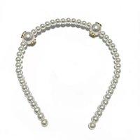 Coreano fatto a mano per perla bianca per perla c custodie per capelli elegante e semplice cinturino per capelli forcina per ladies decorazione preferita testa ornamenti regali del partito
