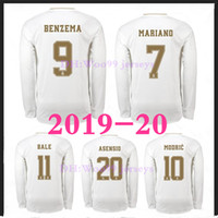 2019 20 Real Madrid Soccer Jersey 2019 2020 HAZARD Home KROO...