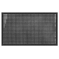 Slip-Mat Non Bar Cuisine industrielle multi-fonctionnelle Anti-fatigue Drainage en caoutchouc antidérapante Hexagonal Mat 150 * 90cm Stock aux Etats-Unis