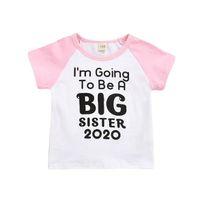 New Fashion Designer drôle d'enfants T-shirts Vêtements de bébé fille Culture populaire Enfants T-shirts d'été Vêtements pour bébés tout-petits DHL LIBÉREZ LE BATEAU BY0826