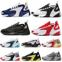 Nike Zoom M2K  2020 أحذية الترشح لرجل أسود فولت الروح تيل العمل الزرقاء منتصف الليل البحرية فرط الأزرق نحلة الرجال المدربين الرياضية حذاء رياضة حجم 36-45