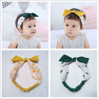 New INS Girl Headdress Baby Bow Hair Accessories Rabbit Ear ...