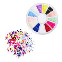 ANY5 DIY Nail Art Советы колеса Кристалл Блеск Красочных Стразы наклейка Мода Инструменты акриловое Сияющее украшение