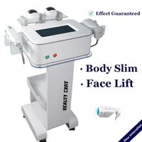 Liposonix HIFU 2 in 1 Gesicht Körper Schlankheits-Maschine Ultraschall Ultrashape Lipohifu Fettabsaugung Cellulite-Reduktion