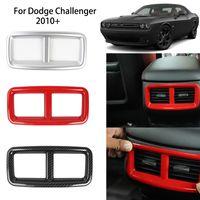 Dodge Challenger 2010 UP Araç İç Aksesuar için Factory Outlet Arka Klima Vent ABS Dekorasyon Kapak
