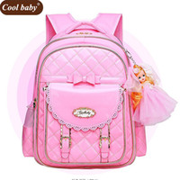 Cool Baby New School Bags for Girls 2018 Brand Backpack Chea...