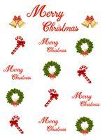 Guirnalda de Navidad y decoración de campanas de caña Fondos de fotografía de vinilo Fondos de fotomatón blancos para accesorios de estudio de Feliz Navidad