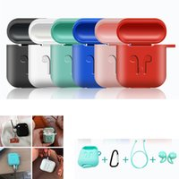 Silicone Case for Airpod Earphone wireless Bluetooth headset...