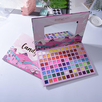 96 cores Novo Design Candy Land Pallete longa sombra Lasitng Eye Shimmer Matte Sombra Maquiagem Pallete