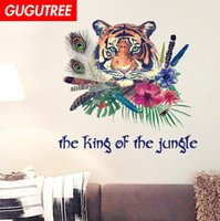 Decorate Home tiger cartoon art wall sticker decoration Deca...