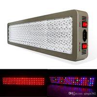 Platin Serisi P600 kullanımı güç 1200W LED Işık AC 85-285V Çift Chip Topraksız ÇİFT VEG ÇİÇEK TAM SPECTRUM Bitki Aydınlatma Grow