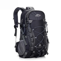 LOCAL LION Outdoor Waterproof Hiking Backpack 40L, Ventilated...