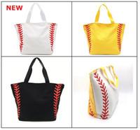 8 أنماط قماش حقيبة البيسبول حقيبة حمل الحقائب الرياضية الأزياء اللينة حقيبة كرة القدم كرة السلة القطن قماش حمل حقيبة