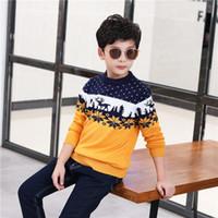 Menino Camisola Novo Com Capuz Big Boy Outono Camisa Pulôver das Crianças Camisola Estudante Casaco Jaqueta