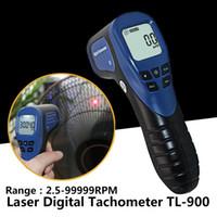 2.5-999999 Tachymètre numérique laser pour moto TL-900 2 Tachomètre moteur à temps pour moteurs électriques Outils à main