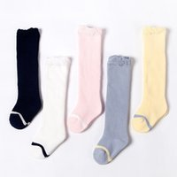 Winter puff mouth thickened Terry long tube baby socks cotto...