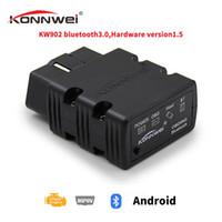 KONNWEI Mini Bluetooth V12 / OBD2 KW902 Adaptateur Voiture Scanner outil de diagnostic pour Android / Symbian Pour protocole OBDII