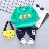 Spring Autumn Children Boys Girls Cartoon Duck Clothes Fashi...