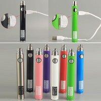 Original UGO V II 2 Vape Batterie 510 Batterie Vape Pen Batterien 650mAh 900mAh mit Micro-USB-Vaporizer e CIGS Pens Ecig Akku EVOD Ego