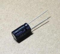 20PCS 25V 1000UF 10 * 17 mm 1000UF 25V 17 * 10 condensador electrolítico