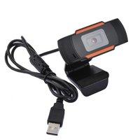 마이크가있는 USB 컴퓨터 웹 카메라 1080P 2.0 HD 웹캠 카메라 30도 회전식 비디오 녹화 웹캠 PC Skype 노트북을위한 웹캠