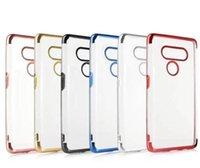 Caso chapado Soft TPU para Samsung S20 Ultra A51 A81 A91 A10S A20S A30S M30S cromado metálico de lujo de Bling electrochapa la cubierta transparente