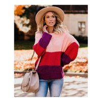 Ladys Brand Strapless Colorful Sweater Womens Casual Fashion...