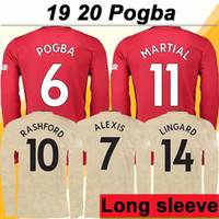 19 20 POGBA ALEXIS Adult Long Sleeve Soccer Jerseys New RASH...