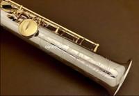 NEW Янагисава S-WO3 MIJ Сопрано саксофон никелированной тела Свободная международная перевозка груза с принадлежностями бемоль Soprano Sax